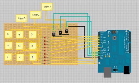 arduino led cube xx random nerd tutorials