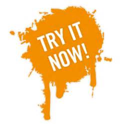 try it now try button source of inspiration