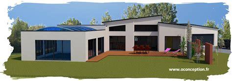 plan maison 4 chambres maison contemporaine avec piscine intérieure à treize