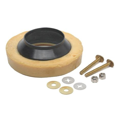 Wax Ring With Brass Bolt Kit31193  The Home Depot