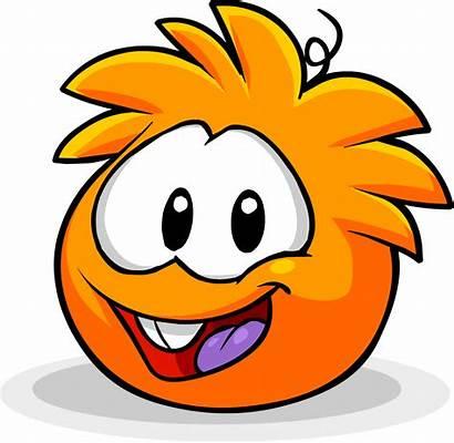 Puffle Orange Penguin Puffles Laranja Clubpenguin Rewritten