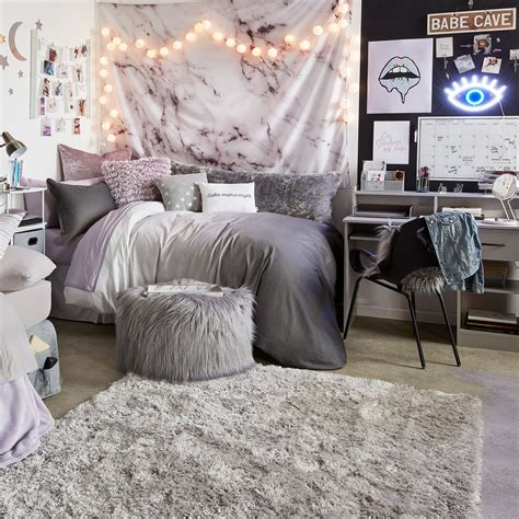 172+ Gray Cozy Teenage Room