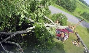 Three weeks after devastating fire, storm wreaks havoc at ...