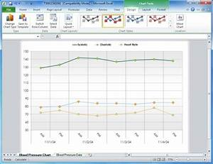 progress chart excel template - blood pressure tracking chart excel