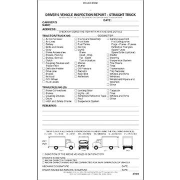 detailed driver s vehicle inspection report