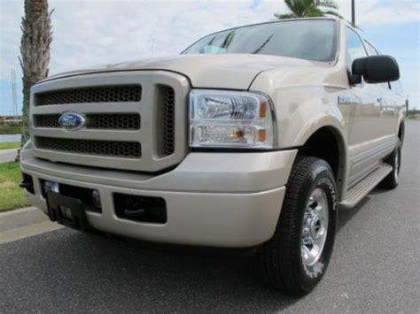 buy   ford excursion limited  wheel drive