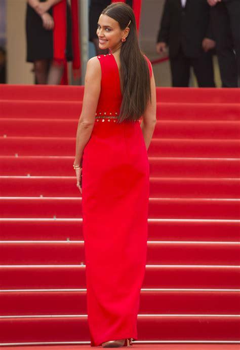Cannes Irina Shayk Goes Underwear Free Revealing