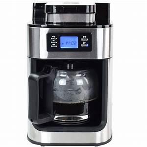 Kaffeevollautomat Mit Mahlwerk : edelstahl kaffeemaschine kaffeeautomat mit mahlwerk und timer ebay ~ Eleganceandgraceweddings.com Haus und Dekorationen