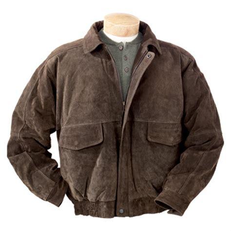 jaket bomber list l 39 s burk 39 s bay suede bomber jacket brown 177225