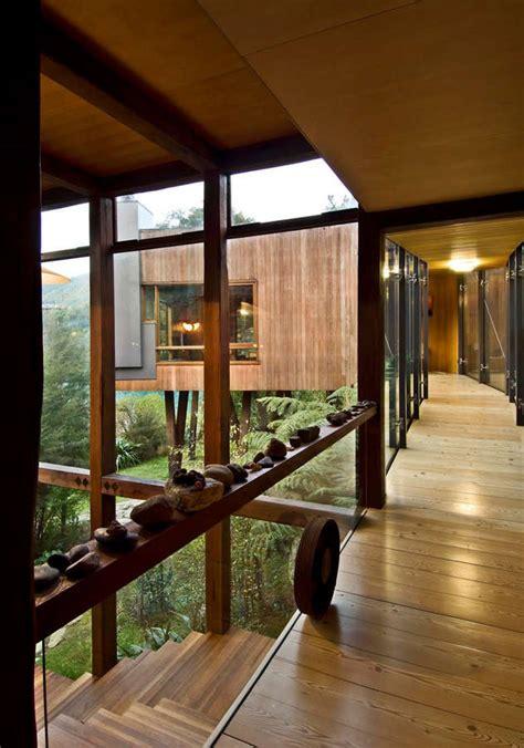 waterfall bay house marlborough sounds residence