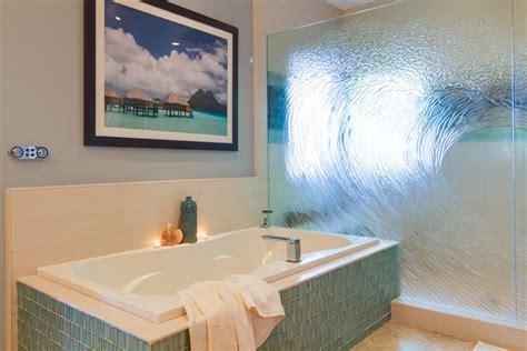 Ocean-inspired Bathroom In Modern Style #3990