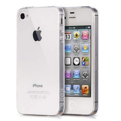 portefeuille crystal clear case  iphone