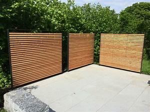 Garten Sichtschutz Holz : gartenmauern und sichtschutz von steiner h rlimann gartenbau freudwil uster ~ Orissabook.com Haus und Dekorationen