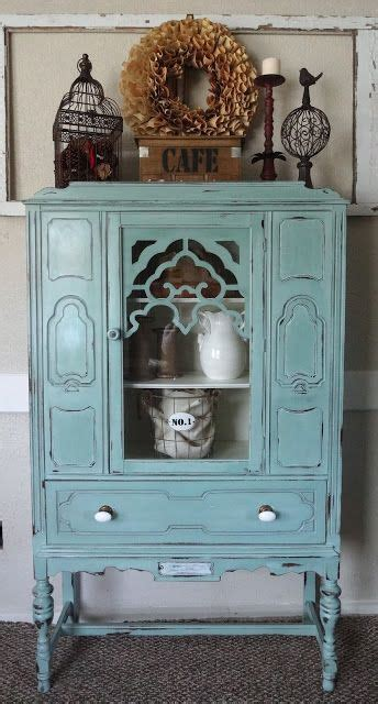 hutch vintage 25 best china cabinet painted ideas on