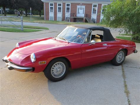 1974 Alfa Romeo Spider by 1974 Alfa Romeo Spider For Sale On Bat Auctions Sold For