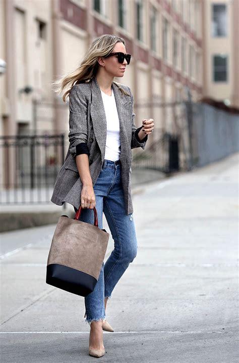 My Favorite Plaid Blazers Brooklyn Blonde