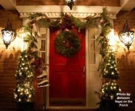 cool christmas porch d 233 cor ideas modern world furnishing designer