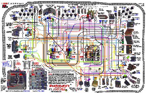 C4 Corvette Dash Wiring Diagram Free Picture by 1968 Corvette Oosoez Dash Wire Harness Guide Set