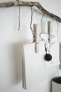 Branche De Bois Deco : 10 id es pour mettre en valeur vos photos cocon d co vie nomade ~ Teatrodelosmanantiales.com Idées de Décoration