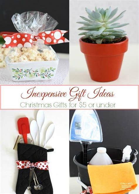 inexpensive christmas gift ideas 5 or less