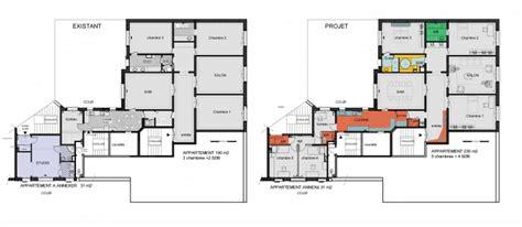 chambres d h es bordeaux annexion a un appartement haussmannien à une