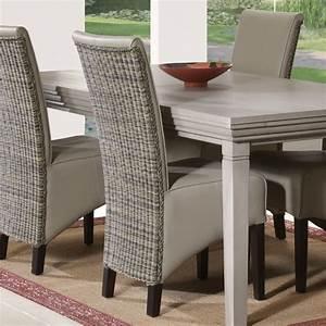 Un Dossier De Chaise : chaises dossier haut salle manger madame ki ~ Premium-room.com Idées de Décoration