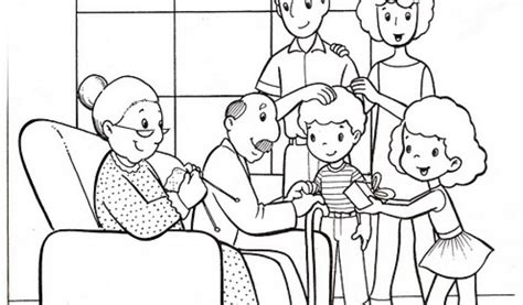 easy family coloring pages  preschoolers iz