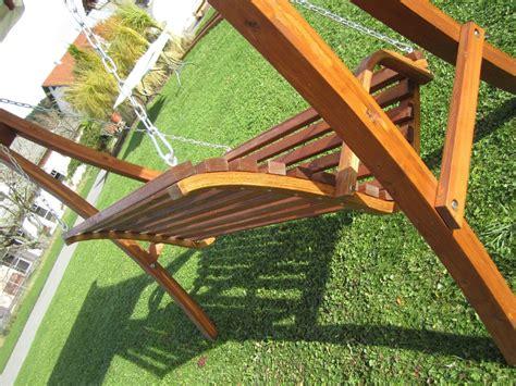 Design Bank Aus Holz Lärche Für Hollywoodschaukel 2sitzer