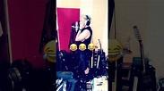 Adam Lambert and Pharaoh @ studio, Bonnie McKee instagram ...