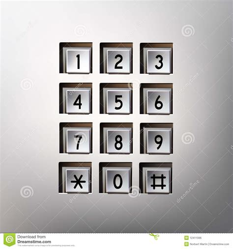 phone number pad vector phone number pad royalty free stock image image