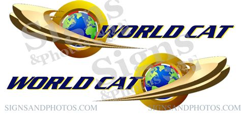 World Cat Boats Logo by World Cat Logo Decals