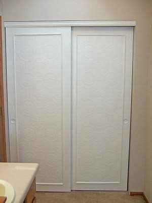 25 best ideas about closet door makeover on