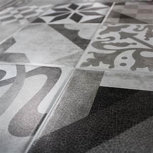 Sol Vinyle Imitation Carreau De Ciment : sol stratifi carreau ciment id e ~ Premium-room.com Idées de Décoration