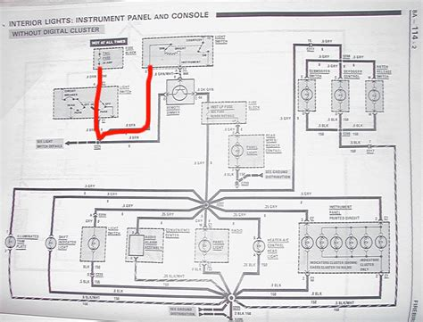 Wiring Diagram For 1988 Firebird by Trans Am Digital Dash Only Panel Lighting Third