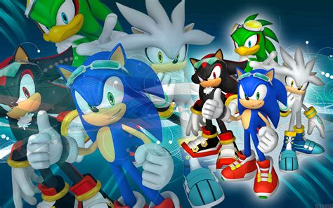 Sonic and Shadow Silver Jet