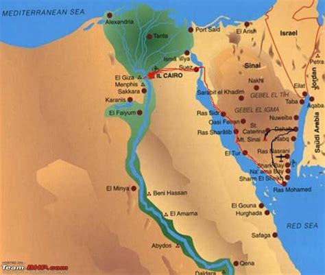 egypt red sea map