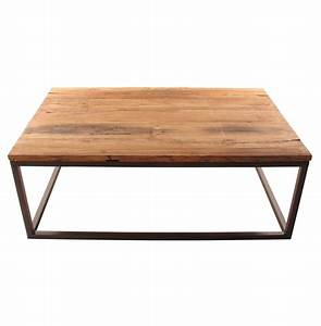 solid chunky reclaimed elm wood large coffee table kathy With oversized reclaimed wood coffee table
