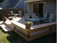 ground level deck plans Deck: How To Build Ground Level Deck Plans For All Your ...