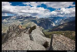 View from top of Lookout Peak Kings Canyon National Park
