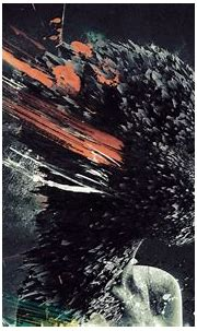 1920x1200 px 3d abstract Apart break CG colors Dark ...