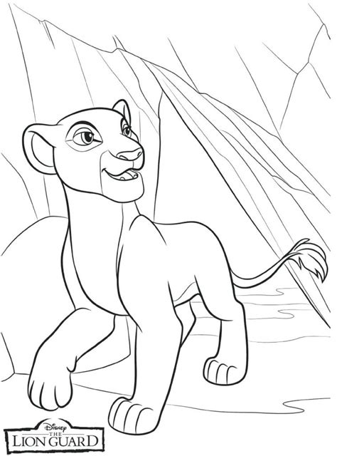 lion guard coloring pages  coloring pages  kids