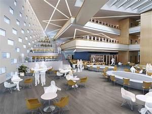 hebei university library winning proposal damian donze With interior design online university