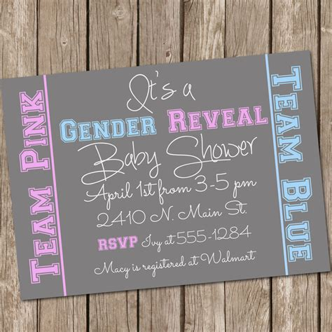Baby Shower Gender Reveal by Unavailable Listing On Etsy