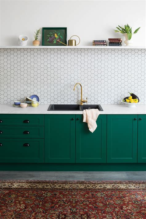 Royal Green   kitchen inspiration and ideas   kaboodle kitchen
