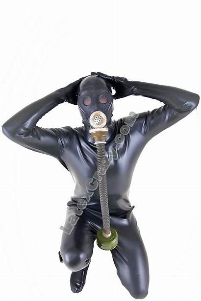 Rubber Heavy Suit Mask Gas Loose Sec1
