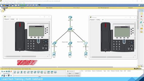 configuring voip phones  cisco packet tracer youtube
