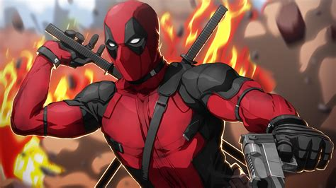 Deadpool Artwork 4k Wallpapers  Hd Wallpapers  Id #23297