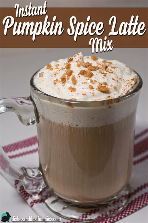 You can get the best discount of up to 50% off. Instant Pumpkin Spice Latte Mix - Dishes & Dust Bunnies
