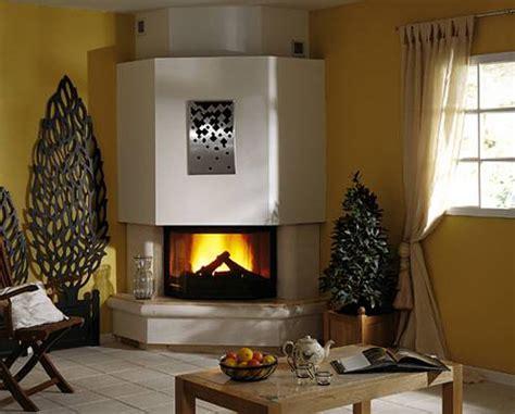 bureau de salon design cheminée d 39 angle marbre photo 5 15 une cheminée d
