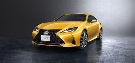 lexus rc   ligeros cambios  el coupe japones